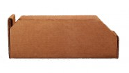 Brown Corrugated Shelf Bin
