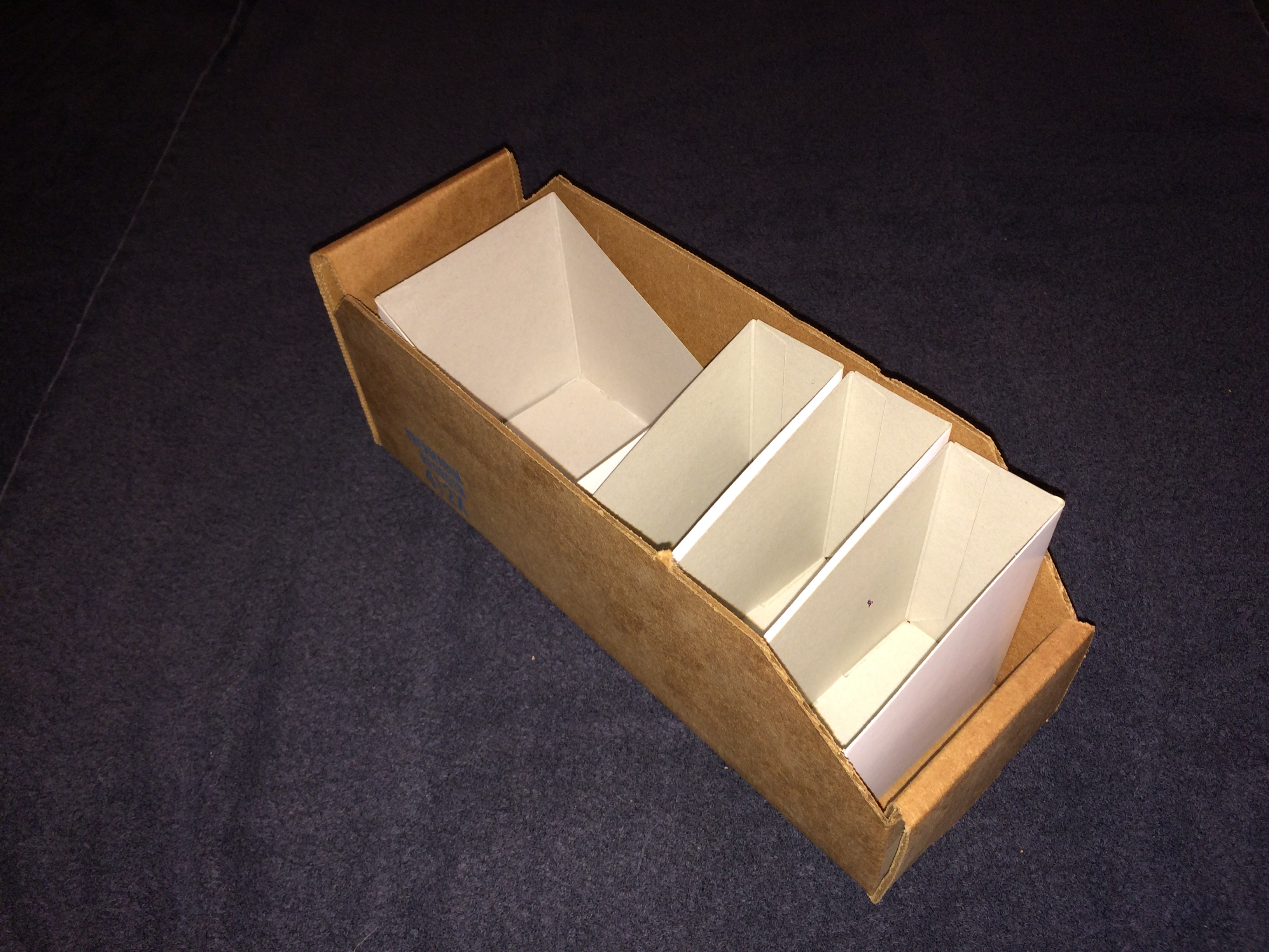 Therm-Nat Flexible Corrugated Bin storage